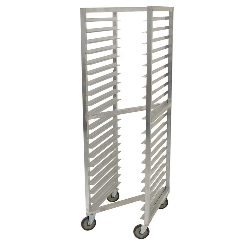 "Advance Tabco NR-20 Mobile Pan Rack - (20) 18x26"" Pan Capacity, Full Height, Aluminum"
