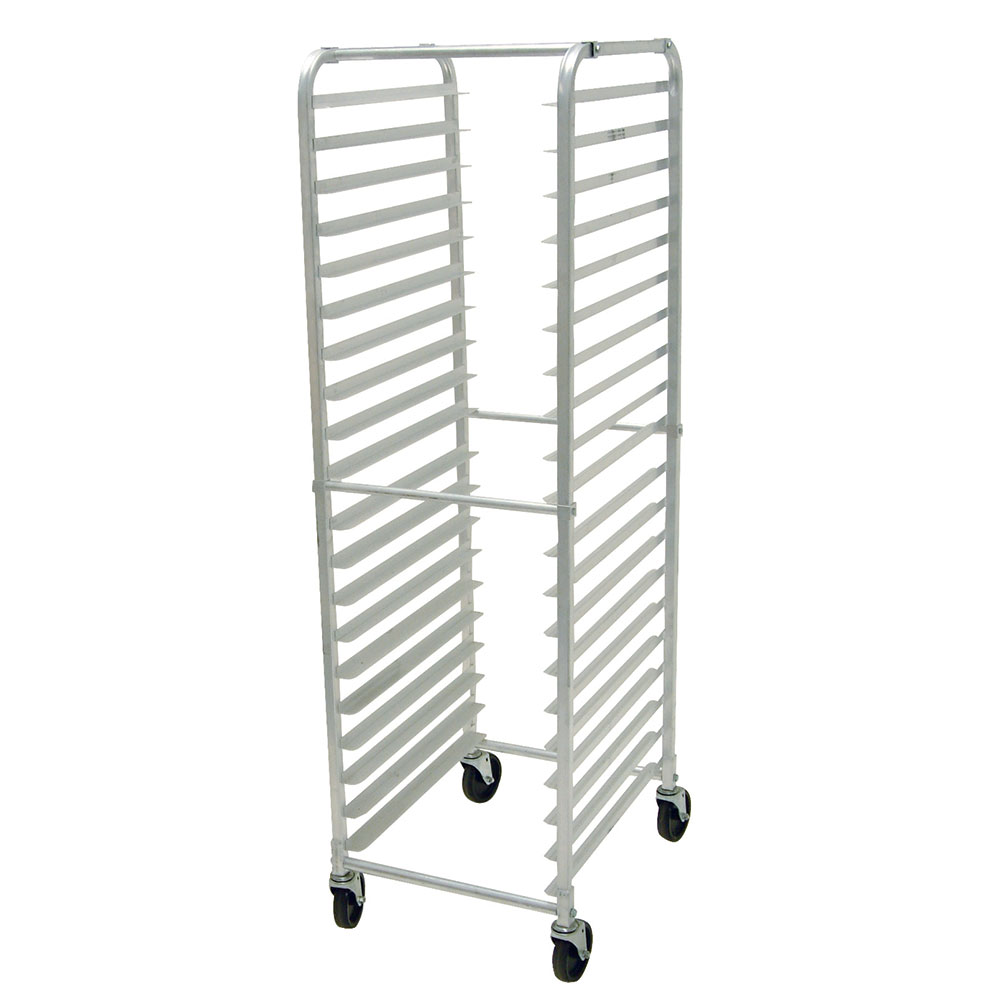 Advance Tabco PR18-3K Front Load Pan Rack, Capacity: 18-Pans, Shipped Knocked Down