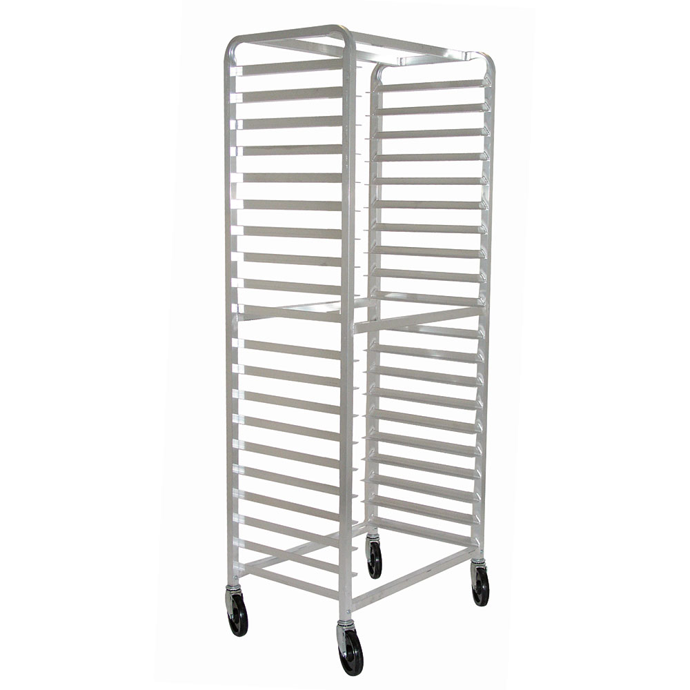 Advance Tabco PR18-3W Aluminum Pan Rack Full Height Open Sides Capacity (18) 18 x 26 in Sheet Pans Restaurant Supply