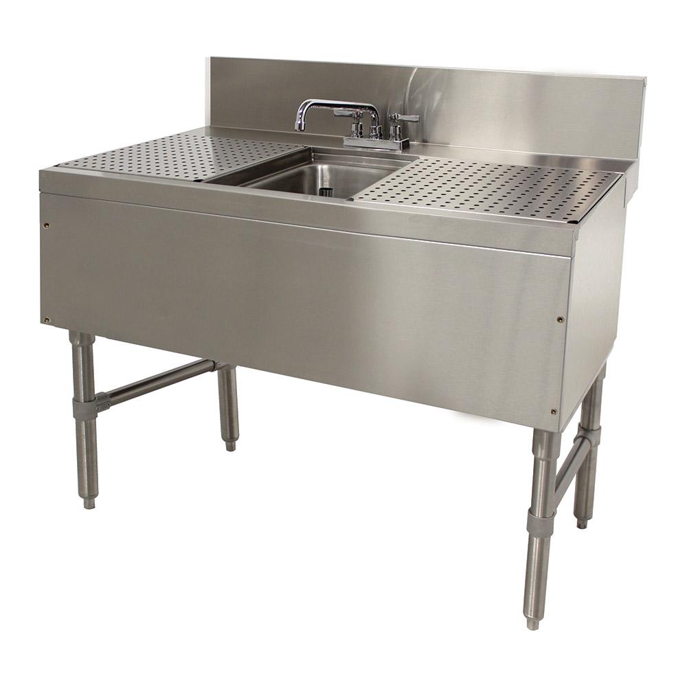"""Advance Tabco PRB-24-31C 36"""" 1-Compartment Sink w/ 10""""L x 14""""W Bowl, 10"""" Deep"""