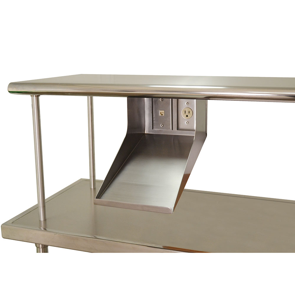 "Advance Tabco PRT-1 8"" Solid Shelving Unit"