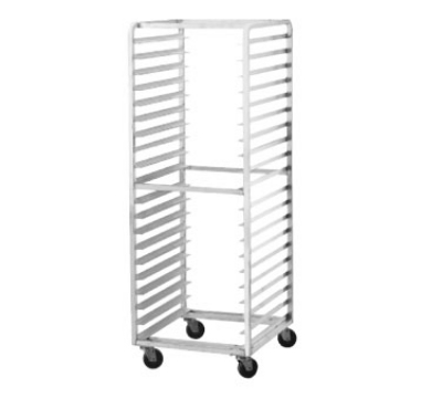 Advance Tabco PR15-4W Full Size Mobile Pan Rack Front Loading Capacity (15) 18 in X 26 in Pans Restaurant Supply