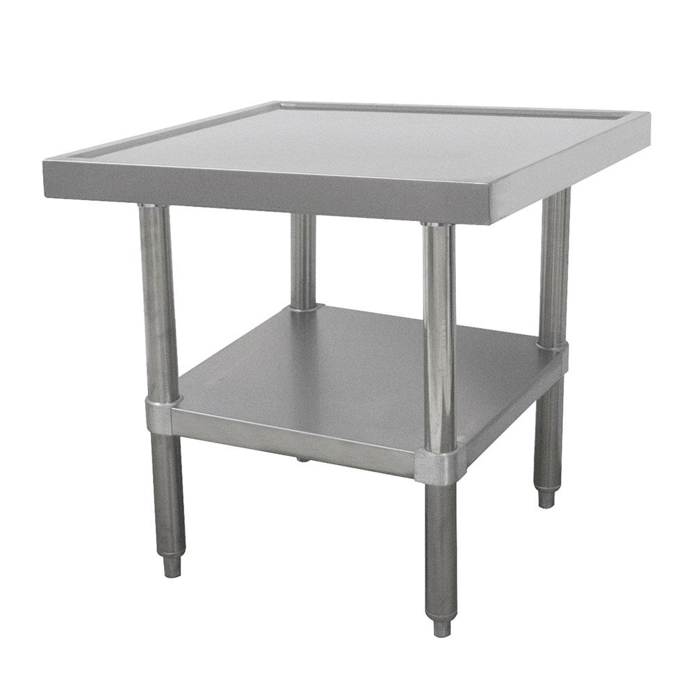 "Advance Tabco SAG-MT-363 36"" Mixer Table w/ All Stainless Undershelf Base & Marine Edge, 36""D"