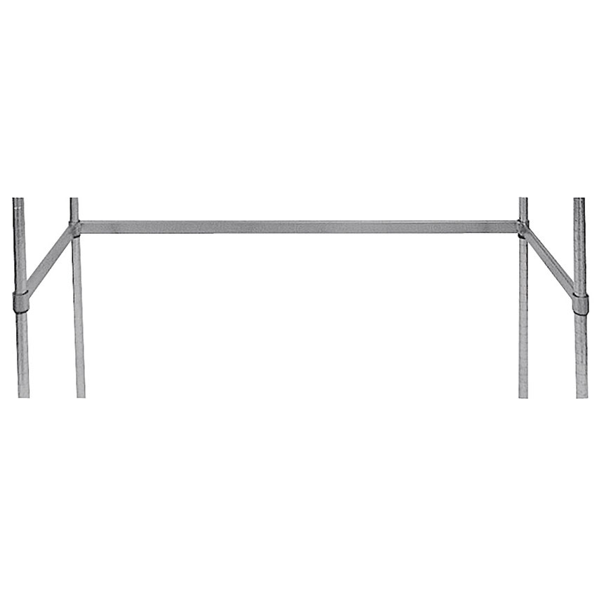 "Advance Tabco SF-1836 Shelving, 3 Sided Frame, 18"" W, 36"" L, Chrome Plated Finish"