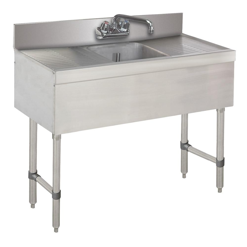 """Advance Tabco SLB-31C-X 36"""" 1-Compartment Sink w/ 10""""L x 14""""W Bowl, 10"""" Deep"""
