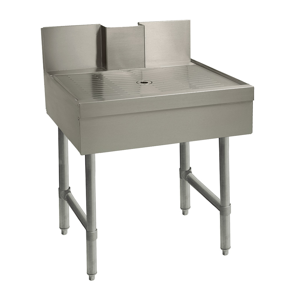 """Advance Tabco SLBD-18 18"""" Free Standing Beer Drainer w/ 1"""" Drain, Stainless"""