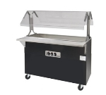 Advance Tabco B4-CPU-B-SB-X Portable Cold Food Buffet Table w/ Solid Base, 4-Pan Size, Ice Cooled