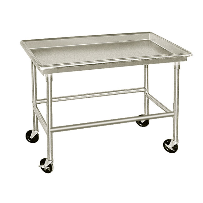 "Advance Tabco SR-96 96"" Sorting Table - 3"" Raised Edge, 30"" W, 16-ga 304-Stainless"