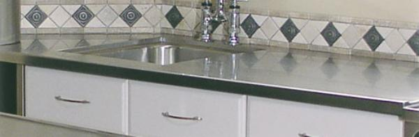 Advance Tabco VCTC244RE Residential Stainless Steel Countertop 48 in x 25 in Restaurant Supply
