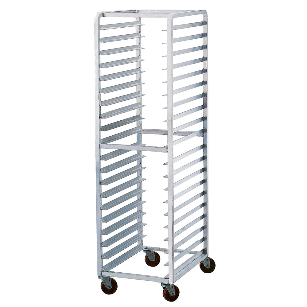 "Advance Tabco STR20-3W 16.75""W 20-Steam Table Pan Rack w/ 3"" Bottom Load Slides"