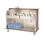 Advance Tabco AMS-5B-7 60-in Portable Bar w/ Open Storage, Workboard &amp