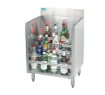 Advance Tabco CRLR-12 12-in Liquor Display Rack w/ 5-Bottle