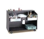 Advance Tabco D-B-7 Portable Bar w/ Ice Bin & Coldplate, Black Finish