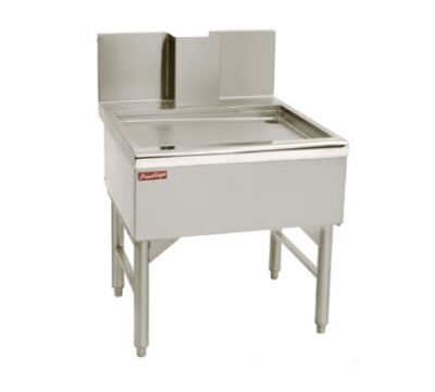 Advance Tabco PRBD-24-18 18-in Prestige Free Standing Beer Drainer w/ 1-in Drain, Stainless