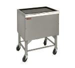 "Advance Tabco PRI-MIC-30 30"" Portable Ice Bin, Drain w/ Shut Off Valve"
