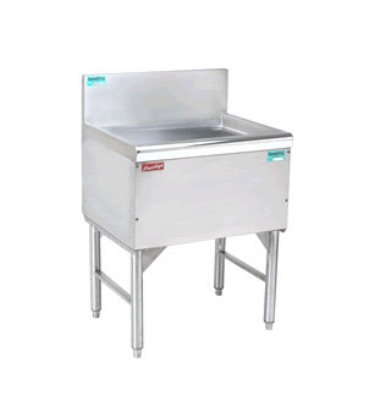 "Advance Tabco PRD-24-48 48"" Free Standing Drainboard w/ 1"" Drain, 24"" Front To Back"
