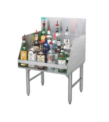 Advance Tabco PRLR-19-30 30-in Free Standing Liquor Storage Rack, 35-Bottle, 24-in Front To Back