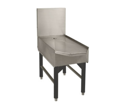 Advance Tabco SCFD-18 18-in Slimline Frozen Drink Machine Stand w/ Beveled Front, Holds 1-Unit