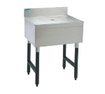 Advance Tabco SLD-2-X 24-in Free Standing Island Type Drainboard w/ 4-in Splash, Stainless