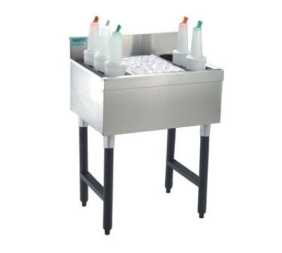 Advance Tabco SLI-12-12-X 12-in Slimline Cocktail Unit w/ 12-in Chest, 35-lb Ice