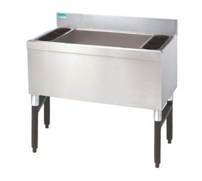 Advance Tabco SLI-12-36-X 36-in Slimline Cocktail Unit w/ 12-in Chest, 210-lb Ice