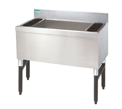 Advance Tabco SLI-12-24-X 24-in Slimline Cocktail Unit w/ 12-in Chest, 100-lb Ice