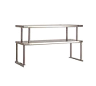 Advance Tabco TOS-2 Double Table Mounted Overshelf, 31-13/16 x 12-in, Stainless