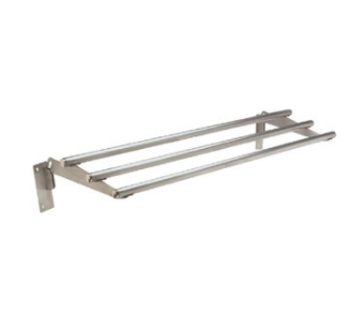 Advance Tabco TTR-5D Drop-Down Tubular Tray Slide, 77-9/12-in, Stainless