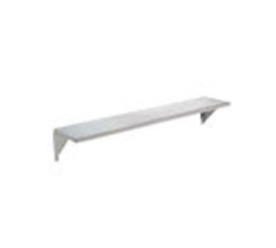 "Advance Tabco TTS-5 Stationary Solid Flat Tray Slide, 77-9/12"", Stainless"