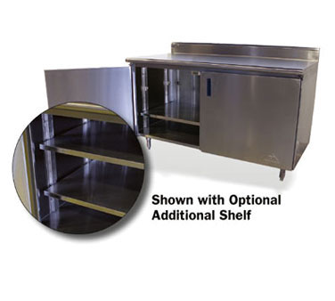 Advance Tabco TA-116 Upgrade Base Cabinet Mid-Shelf to be Adjustable