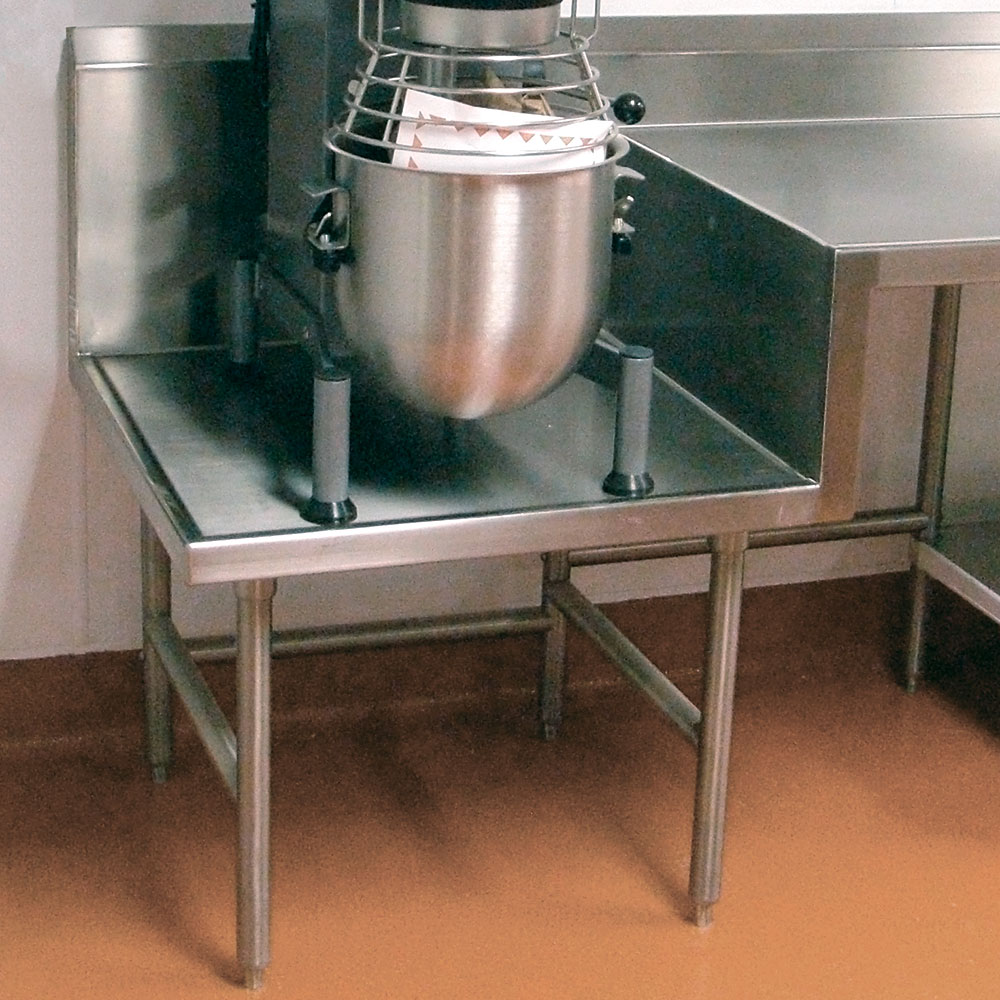 """Advance Tabco TA-58 Step-Down Top to 24"""" Working Height, Each"""