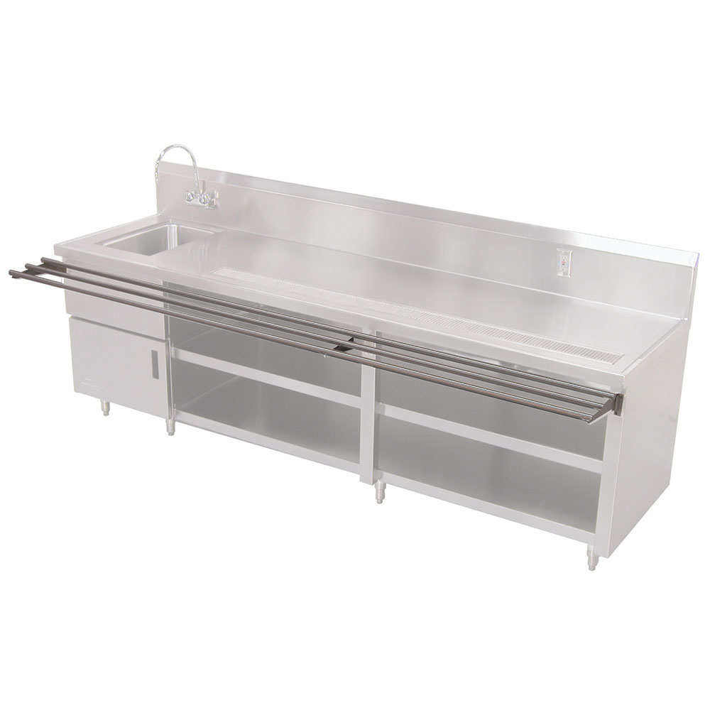 Advance Tabco TA-73 Drop Down Tray Slide, Tubular, (factory installation only)