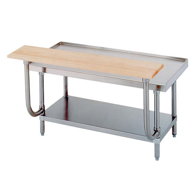 "Advance Tabco TA-923 36"" Adjustable Wood Cutting Board"