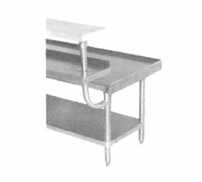 Advance Tabco TA-962 24 in Adjustable Plate Shelf Restaurant Supply