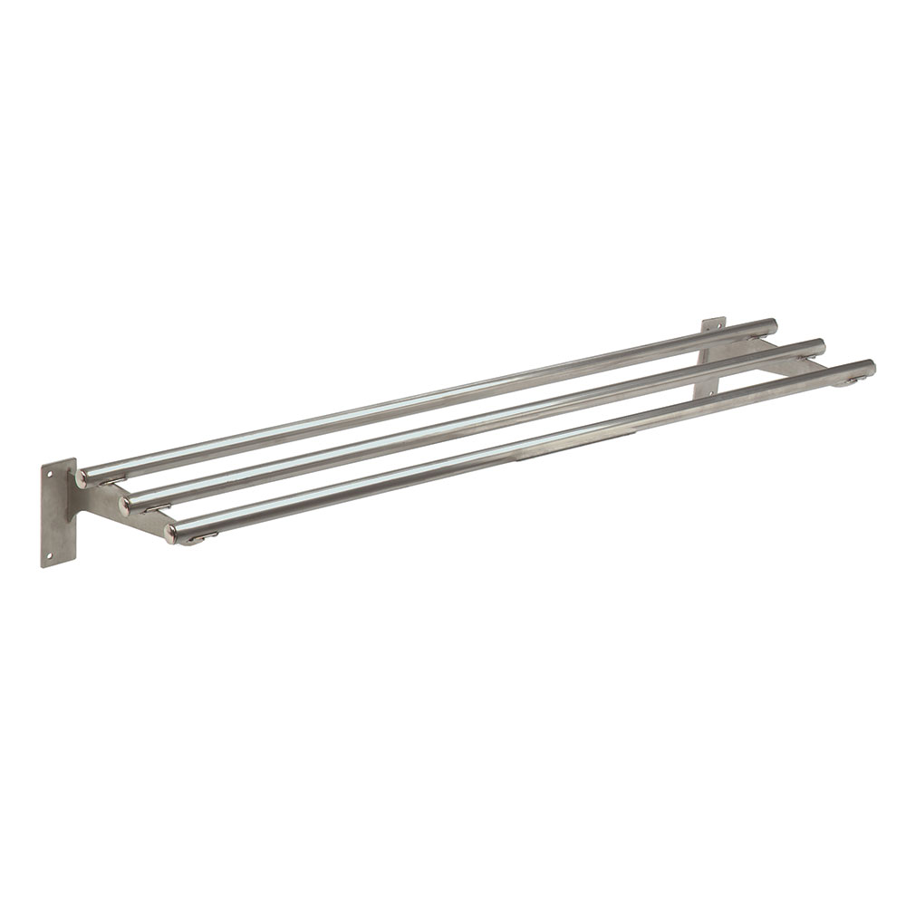 Advance Tabco TTR-4-X Triumph Stationary Tubular Tray Slide, 62.4-in, Stainless