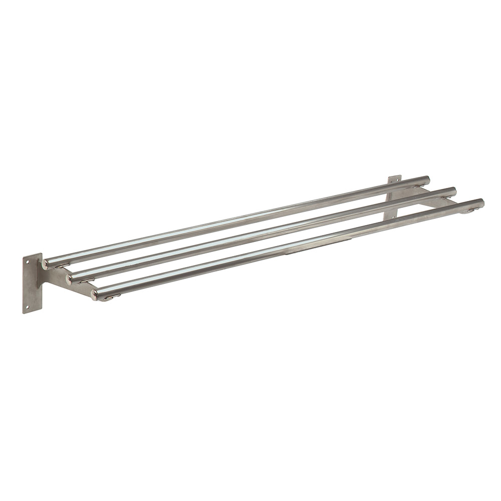 Advance Tabco TTR-5 Triumph Stationary Tubular Tray Slide, 77.75-in, Stainless