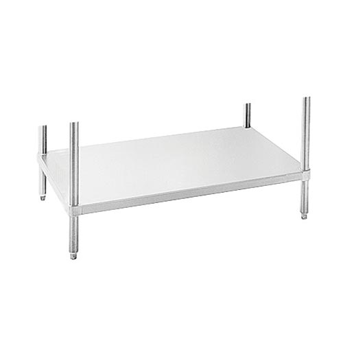 "Advance Tabco UG-36-132 Undershelf for 36x132"" Work Table, Galvanized Finish"