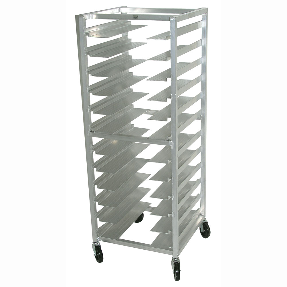 Advance Tabco UR10 Full Height Mobile Universal Pan Rack - (10) Pan Capacity, Aluminum