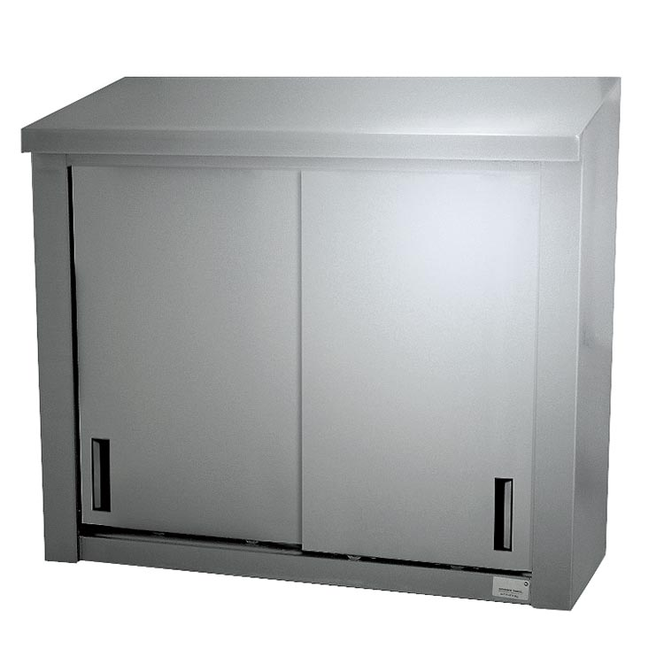 """Advance Tabco WCS-15-48 48"""" Solid Wall Mounted Shelving Cabinet"""