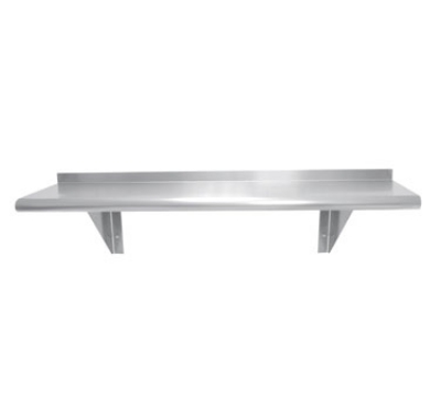 Advance Tabco WS-18-96 18 in x 96 in L Wall Mounted Shelf Stainless Steel Restaurant Supply