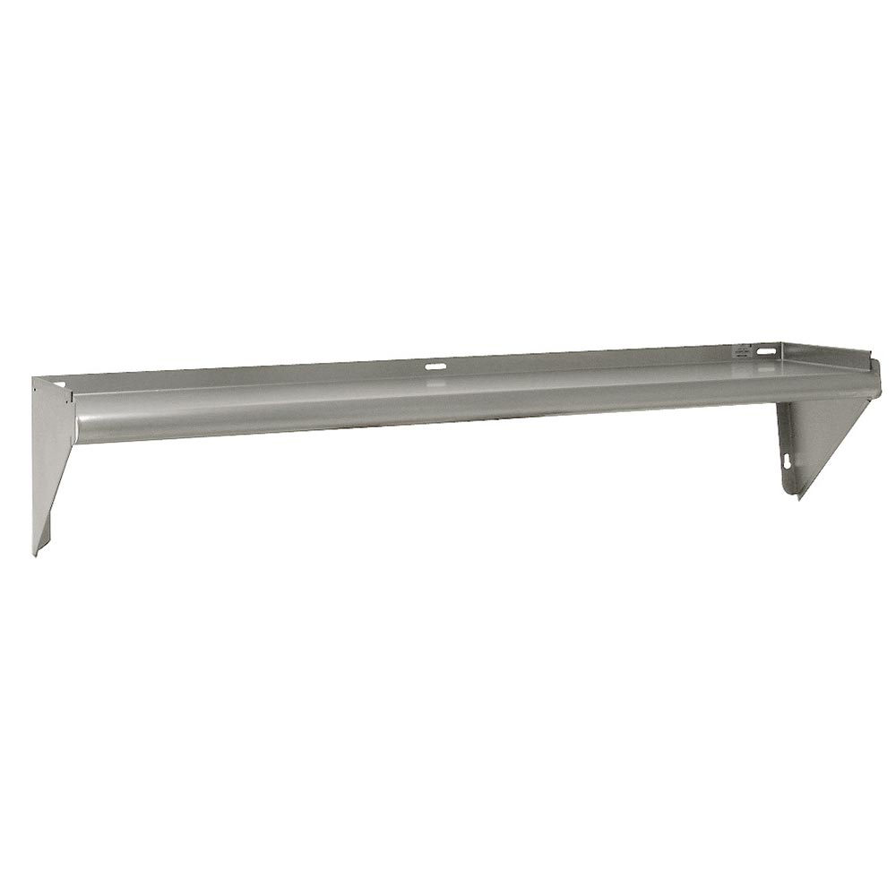 "Advance Tabco WS-KD-24 24"" Solid Wall Mounted Shelving"