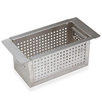 "Advance Tabco A-23 5"" Perforated Basket for All Sink Blender Combinations"