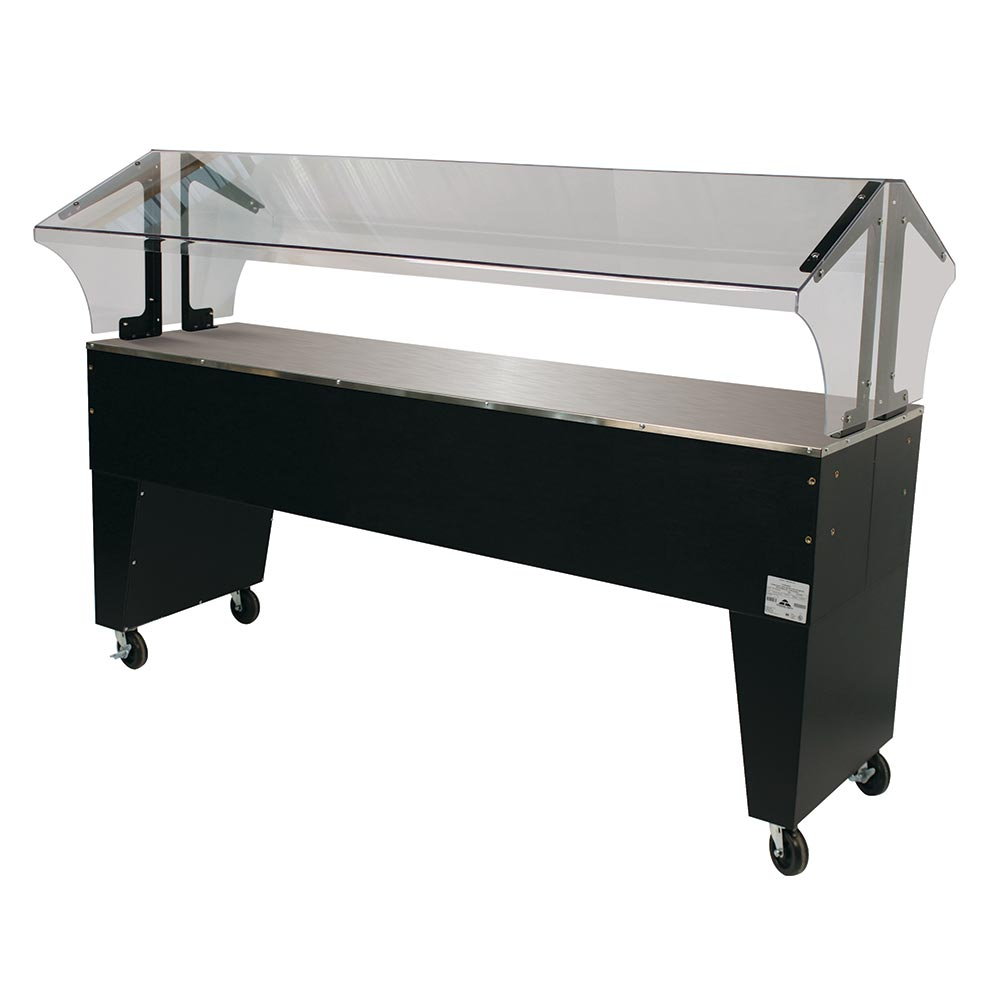 Advance Tabco B5-STU-B Portable Buffet Table w/ Solid Top & Open Base, 5-Pan Size