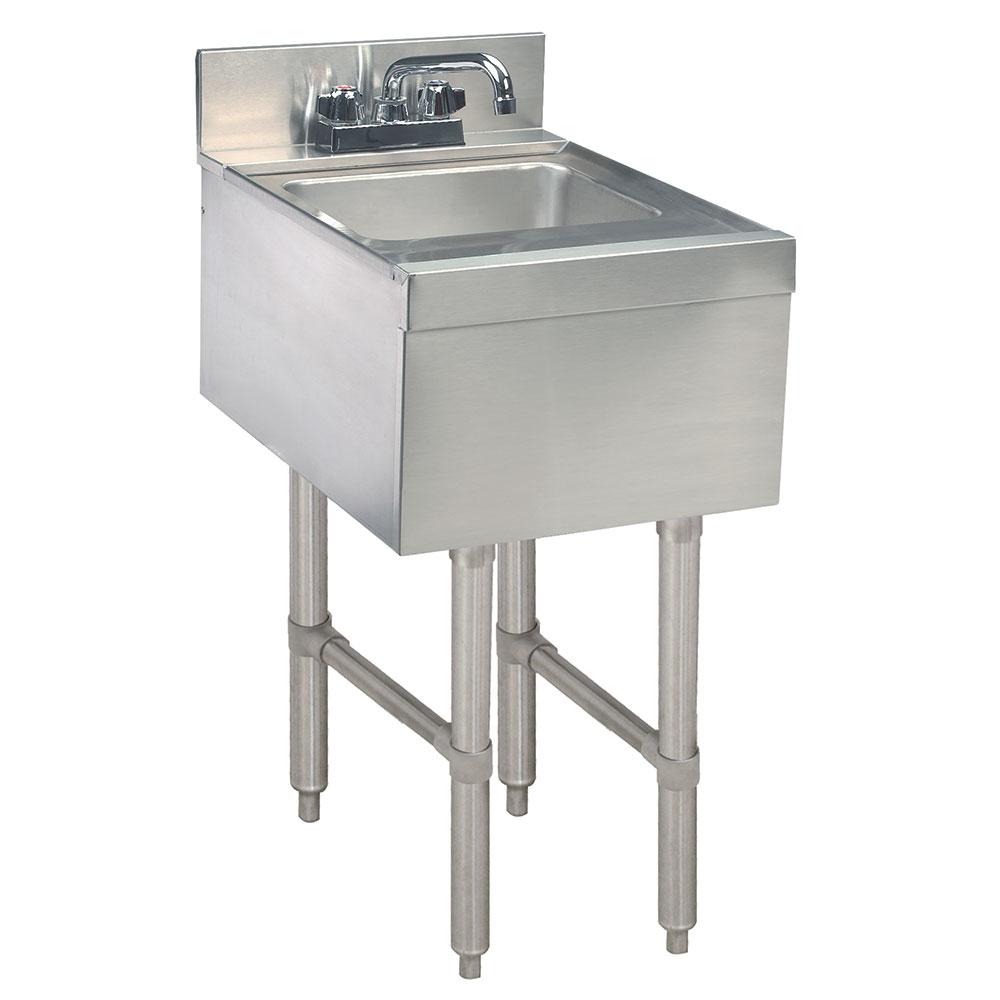 """Advance Tabco CR-HS-12-X Commercial Hand Sink w/ 14""""L x 10""""W x 10""""D Bowl, Standard Faucet"""
