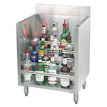 "Advance Tabco CRLR-18-X 18"" Liquor Display Rack w/ 5-Bottle Capacity Per 5-Tiered Steps"