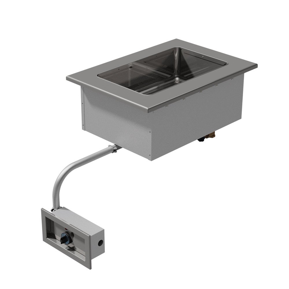 "Advance Tabco DISW-1-120 16.75"" Drop-In Hot Food 1-Well Unit w/ Infinite Control, 120 V"
