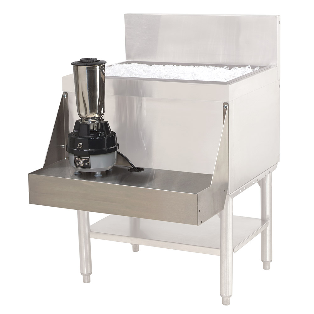 "Advance Tabco PRA-BS-16 16"" Blender Shelf, Stainless"