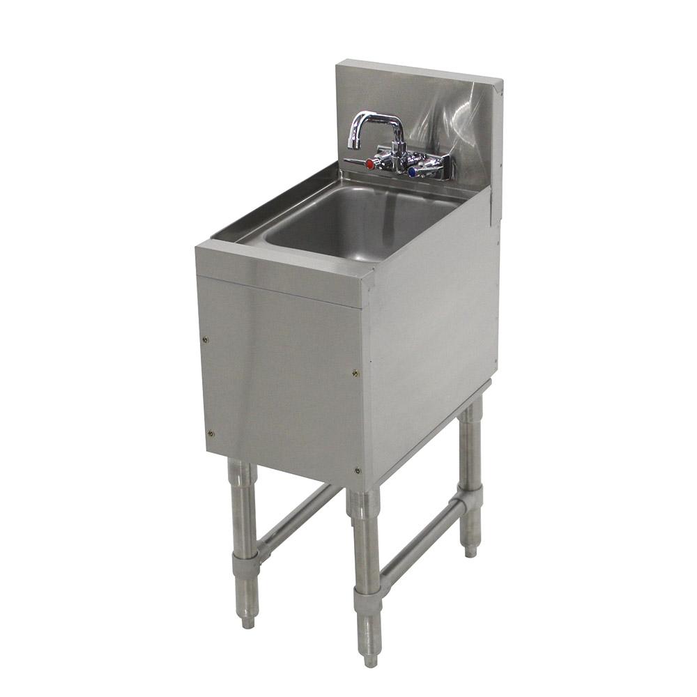 """Advance Tabco PRHS-19-12 Commercial Hand Sink w/ 14""""L x 10""""W x 10""""D Bowl, Standard Faucet"""