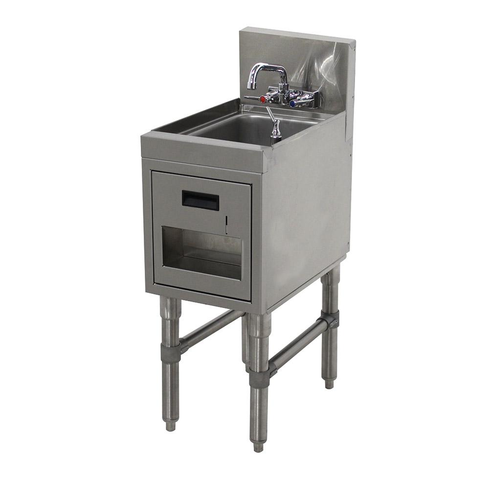 """Advance Tabco PRHSST-19-12 Commercial Hand Sink w/ 9""""L x 9""""W x 4""""D Bowl, Standard Faucet"""