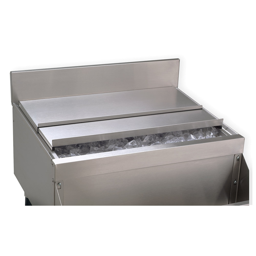 Advance Tabco SSC-PT Ice Bin Sliding Cover For Pass-Thru Unit, Stainless